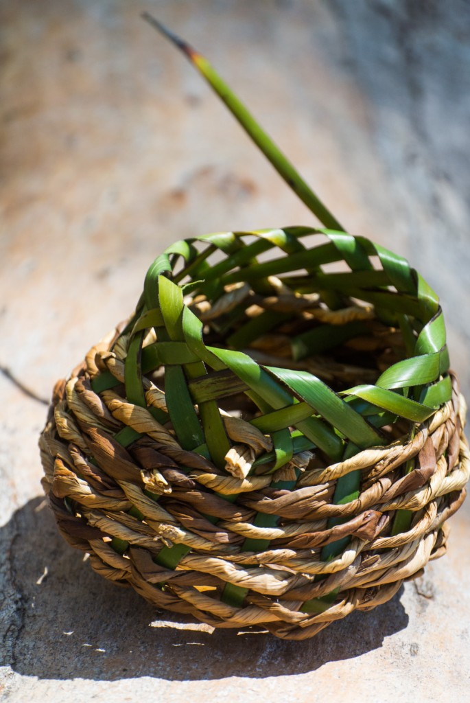 The Montebello-Reed and Sword Sedge basket.