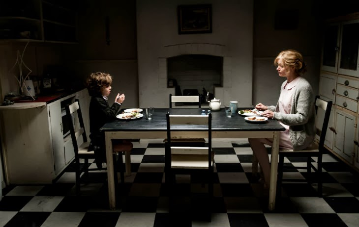 The Babadook. Noah Wiseman and Essie Davis.
