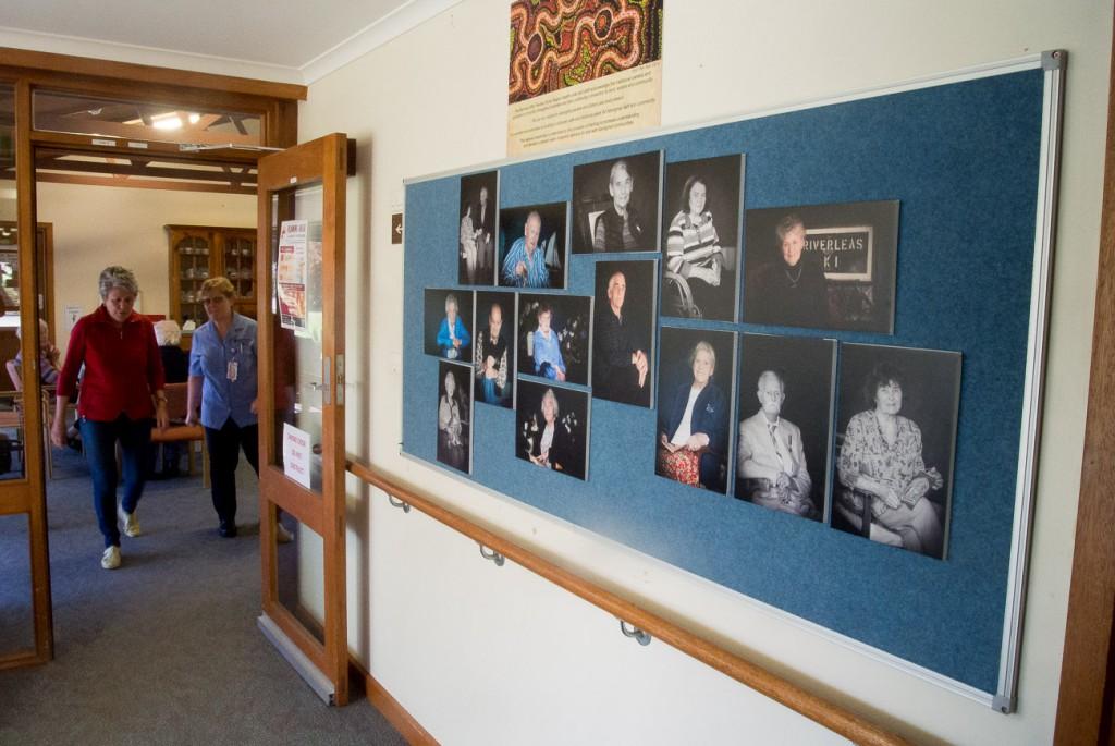 My exhibition in the Carnarvon foyer.